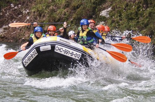 Rafting en Cantabria