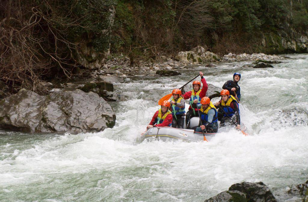 Rafting río Cantabria