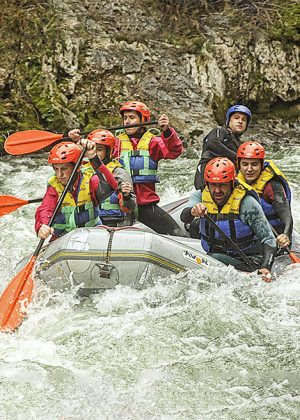 Rafting descenso río Devatur