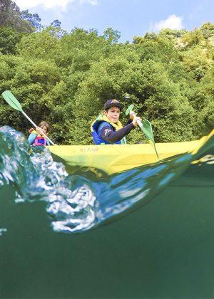 Descenso canoa río Cares